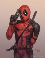 Peace, Deadpool - Daily Sketch