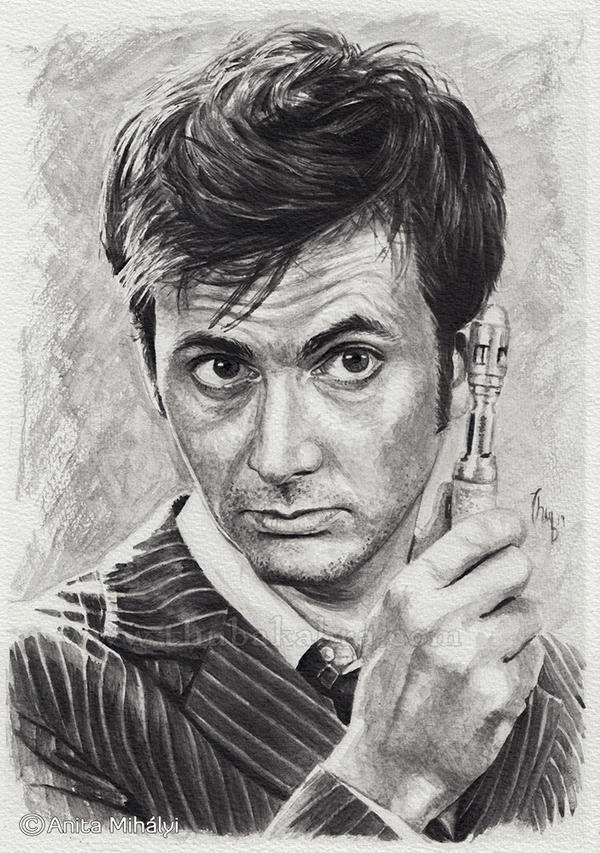 David Tennant, the 10th Doctor, Doctor Who Fanart