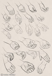 Practicing Hands by Thubakabra