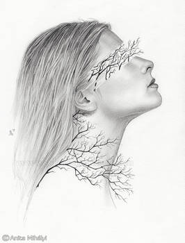 Branches - Surreal Drawing