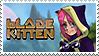 Blade Kitten Stamp by atomicalicorn