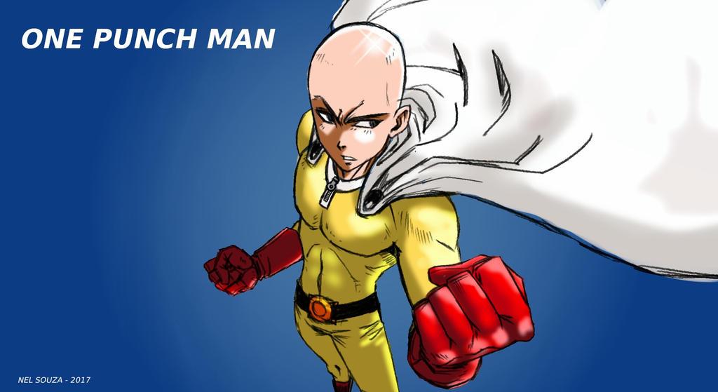 Saitama One Punch Man Wallpaper By Laionelsouza On Deviantart