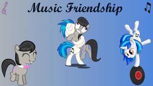 Wallpaper Music Friendship by Barrfind