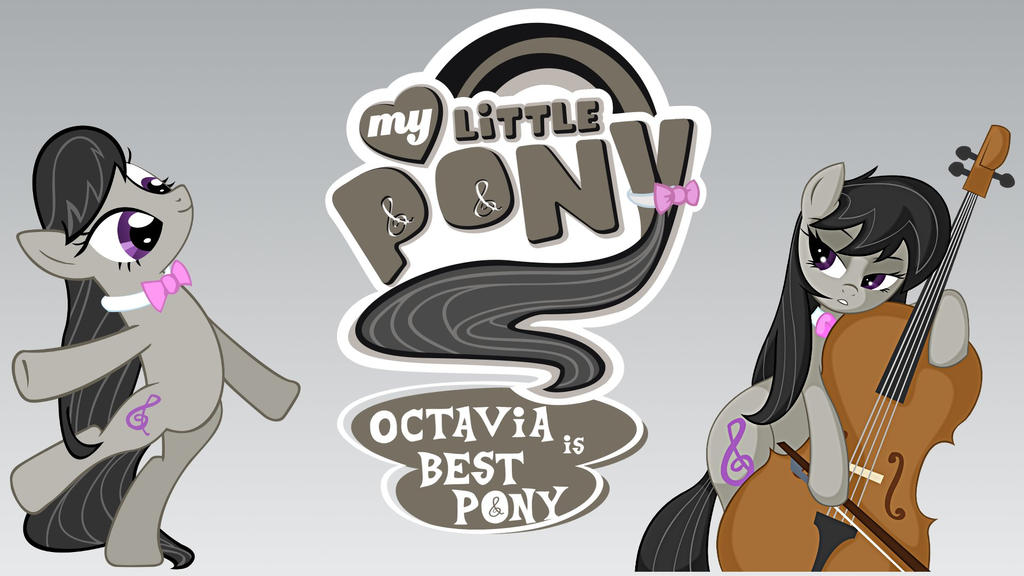 Wallpaper Octavia best pony by Barrfind