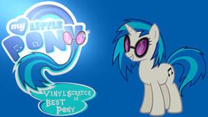 Wallpaper Vinyl Scratch is best pony