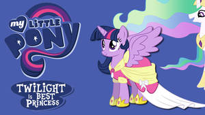 Wallpaper Twilight is best princess by Barrfind