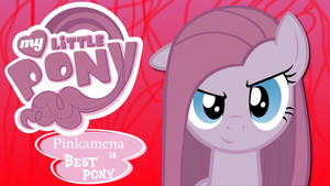 Wallpaper Pinkamena is best pony
