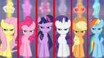 Wallpaper Mane6 very angry on you