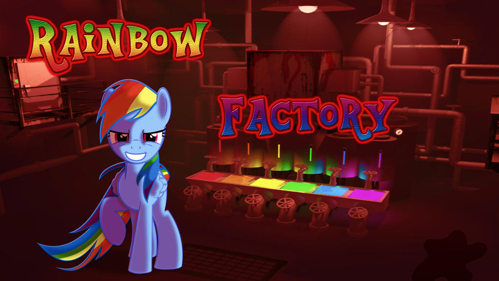 Wallpaper RD in Rainbow Factory by Barrfind