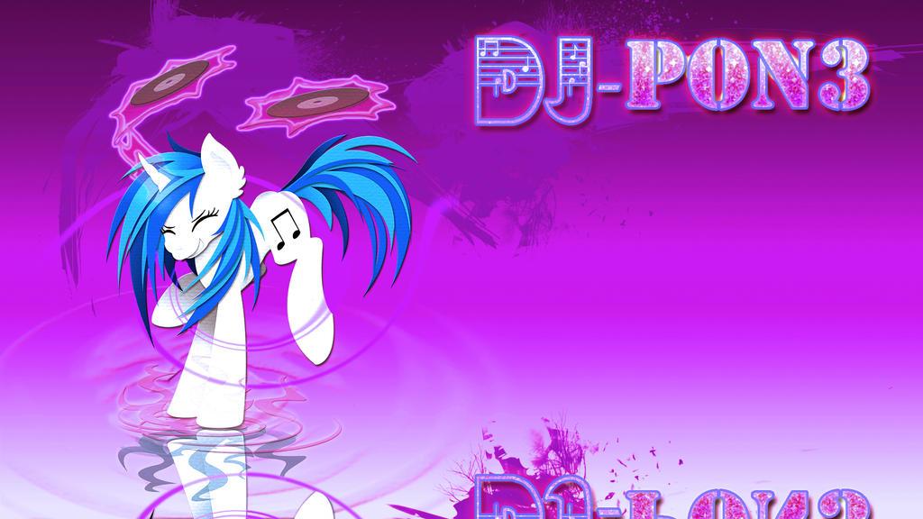 wallpaper_vinyl_music_pony_by_barrfind-d