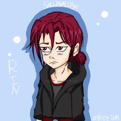 Rin Matsuoka Free By Sallywally30 On Deviantart Rin matsuoka anime fan art, background rendering png clipart. deviantart