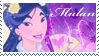 Disney Mulan Stamp by AleXielBrando