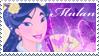 Disney Mulan Stamp by AleXielBrando