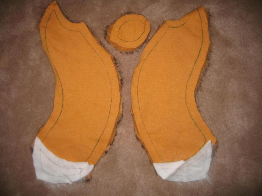Diy Fox Tail Costume Diy Fox Tail Tutorial Diy Fox Tail Tutorial