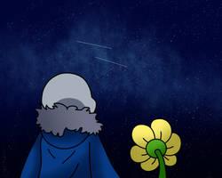 starry sky by InsanityPants