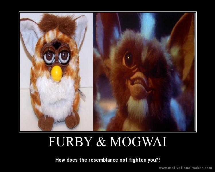 art Furby and Mogwai Gremlin