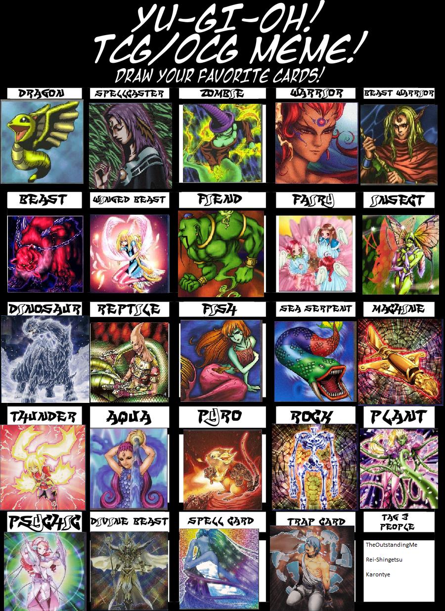 Yugioh Cards Meme by Hawkheart29 on DeviantArt