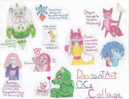 DeviantArt OCs Fan-Art Collage