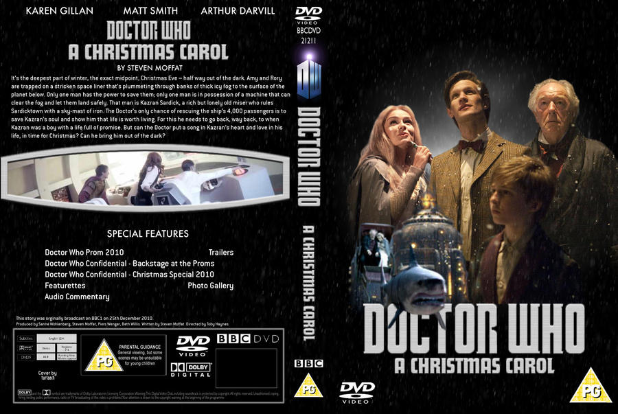 Dr Who - Christmas Carol Cover by Turlaach on DeviantArt