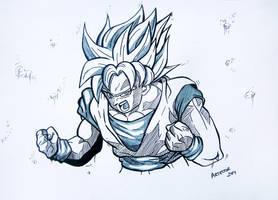 Goku - Dragon ball z by ArTestor