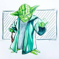 Yoda - Star Wars by ArTestor