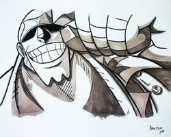 Franky one piece by ArTestor