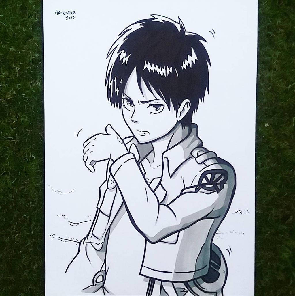 eren jaeger manga - photo #41