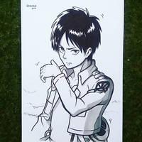 Eren Jaeger - Shingeki no Kyojin by ArTestor