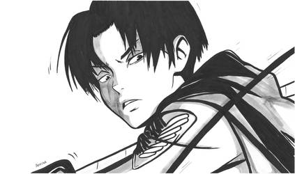 Levi Ackerman by ArTestor