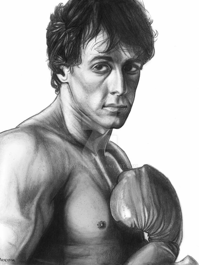 Rocky Balboa | Sylvester Stallone by ArTestor