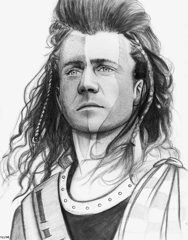 Mel Gibson - Braveheart by ArTestor