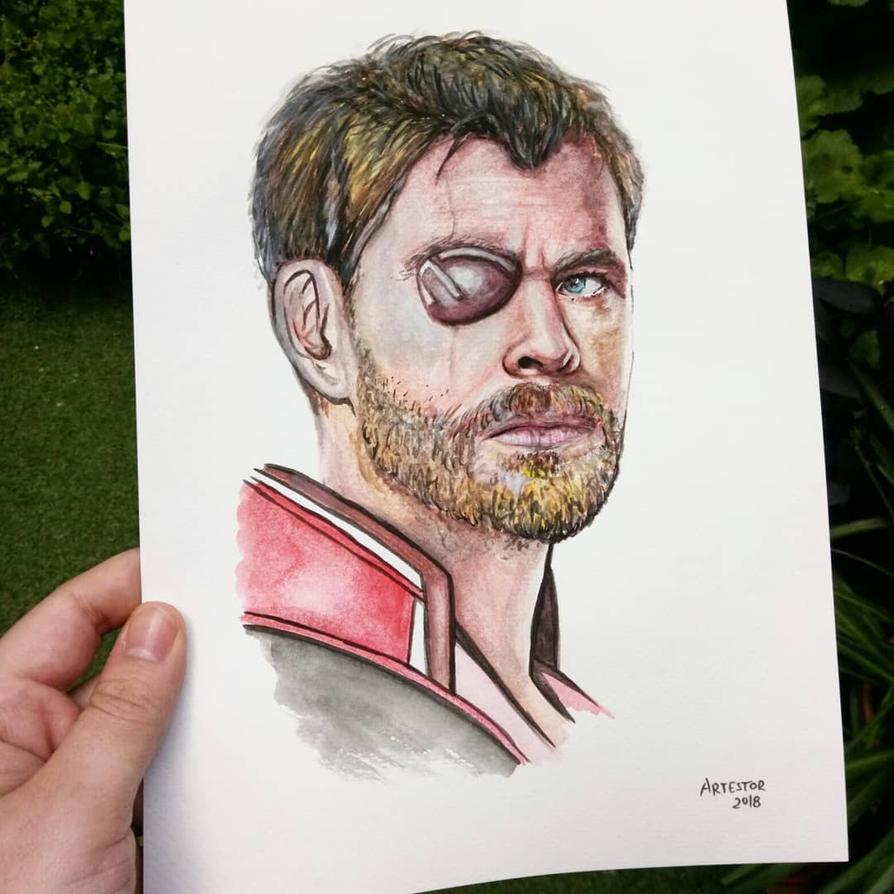 Thor - Chris Hemsworth by ArTestor