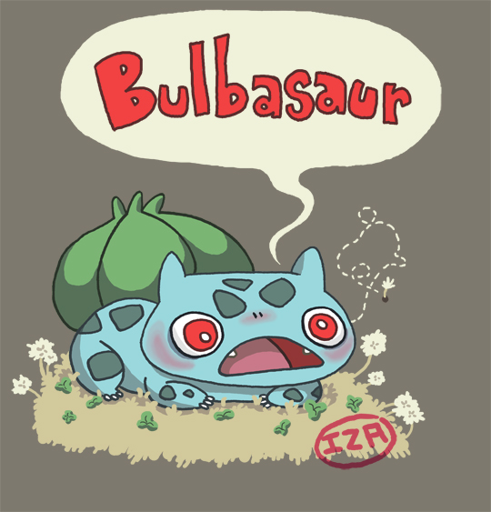 Bulbasaur by Izaart