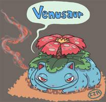 Venusaur by Izaart