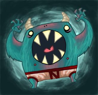 Underpants Monster by Izaart