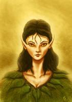 sad elf by hillfreak