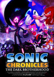 Sonic Chronicles: The Dark Brotherhood Poster by Acquainted-Guy