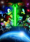 Sonic Adventure 2 Poster (Textless)
