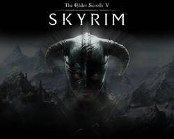 Skyrim Wallpaper Var 2 by Evil-Eagle