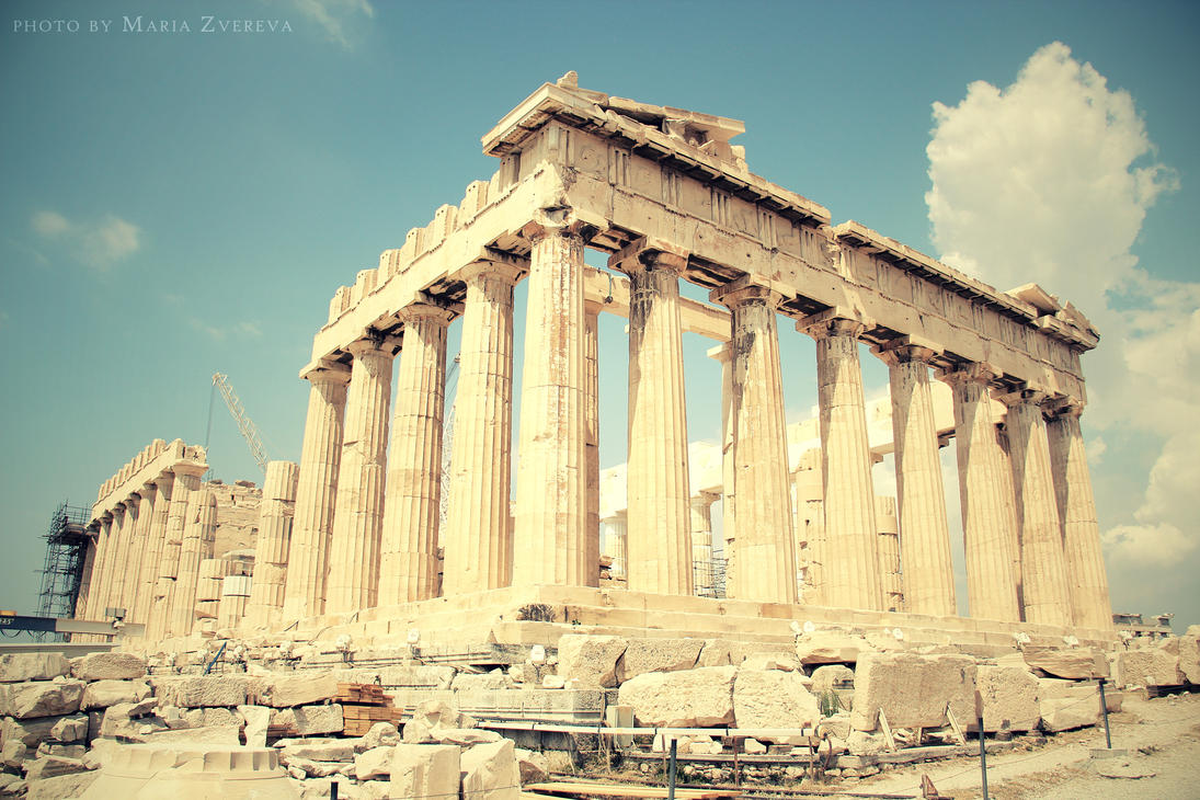 Parthenon by maremerald