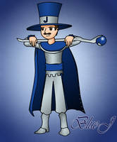 Blue J Mage Knight by JonCausith