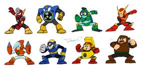Robot Masters Sketch - MM2