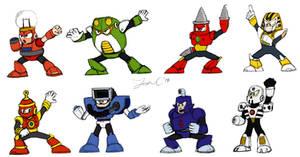 Robot Masters Sketch - MM4