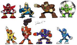 Robot Masters Sketch - MM5