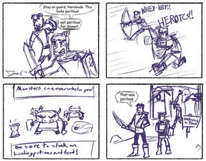 Legends Comic - Loaded With Peril