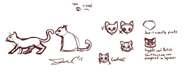 11th June 2015 - Jon Draws Cats