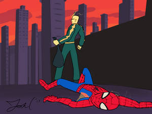 Electro Defeats Spider-Man - REDRAW