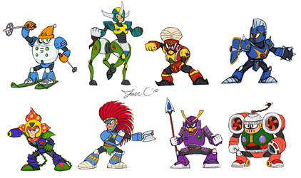 Robot Masters Sketch - MM6