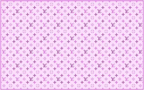 Louis Vuitton Logo Wallpaper Pink La LoUis iN piNk by Blueslayer