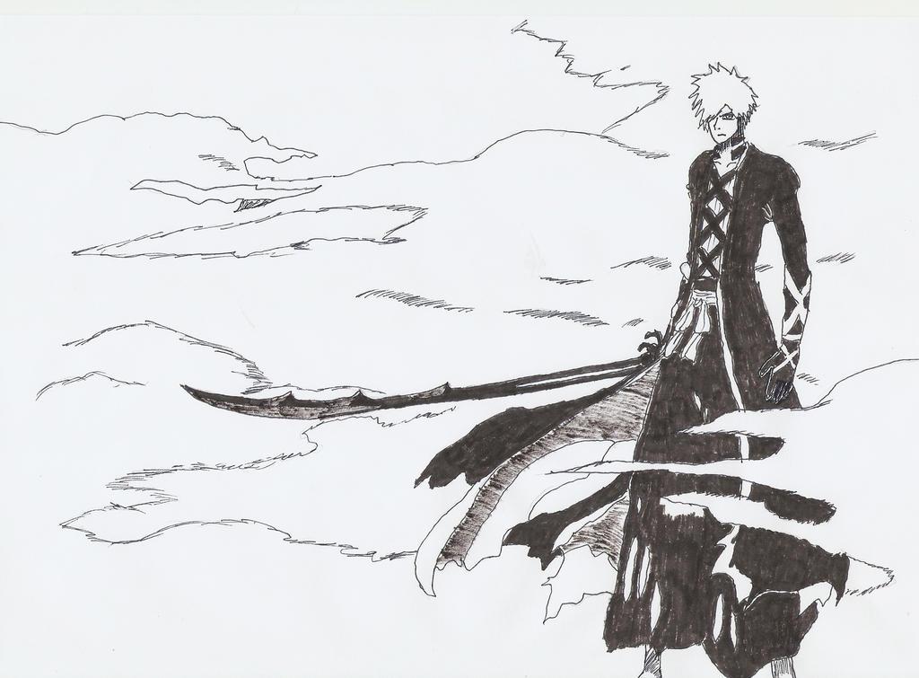 Ichigo Kurosaki New Bankai Form Kurosaki Ichigo...